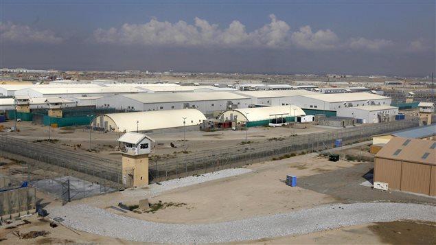 La base aérienne de Bagram en Afghanistan.