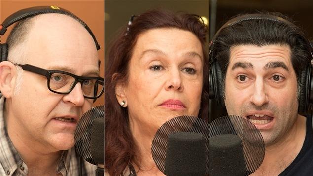 Jacques Beauchamp, Sophie Faucher et Patrick Masbourian