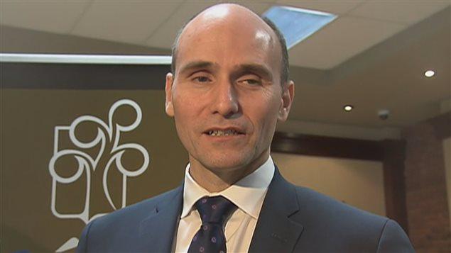 Le ministre fédéral Jean-Yves Duclos