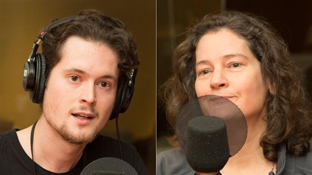 Loïc Darses et Lucie Tremblay