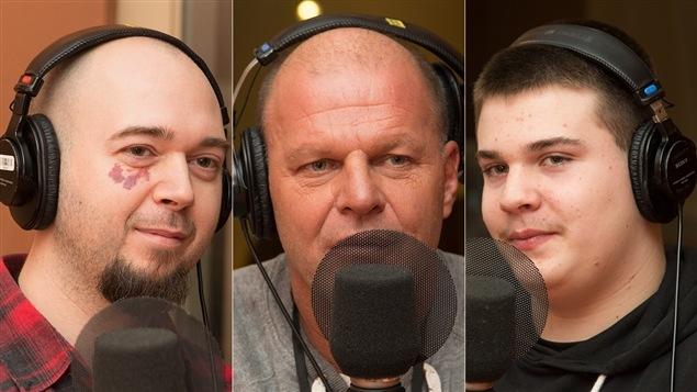 Stéphane Paquin, Jacques Rougeau et Émile Rougeau