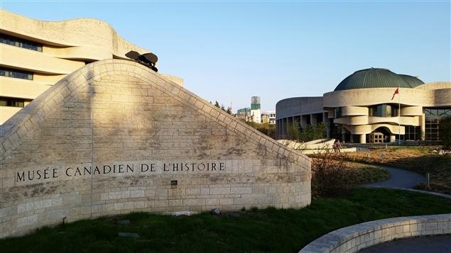 Le Musée canadien de l'histoire, à Gatineau (archives).