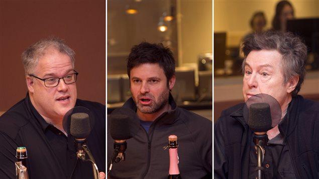Mathieu Turbide, Patrick Désy et Claude Langlois