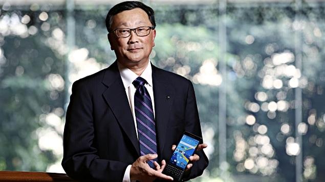 John Chen, le PDG le mieux rémunéré du Canada en 2014.