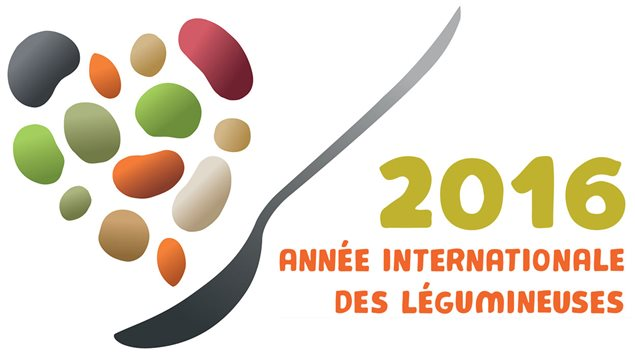 Le logo officiel de l�ann�e internationale des l�gumineuses
