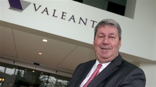 Michael Pearson, presidente-director general de Valeant.
