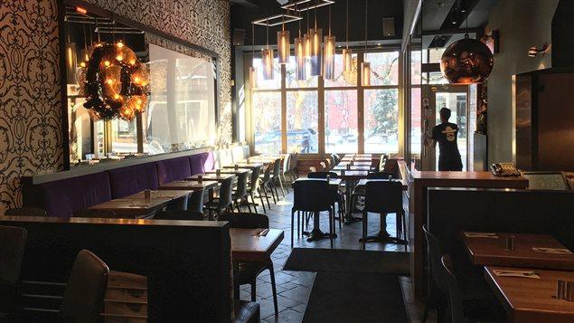 Le restaurant Saloon � Montr�al