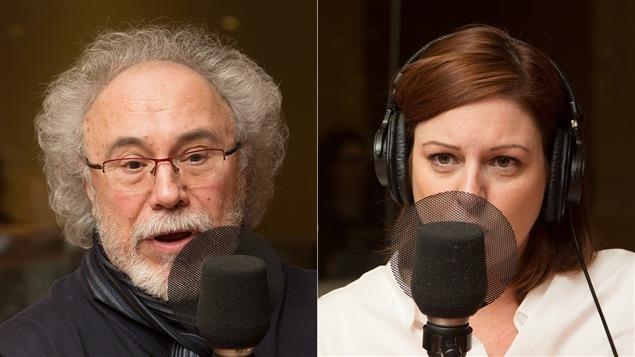 Jean-Pierre Charbonneau et Marie-Maude Denis