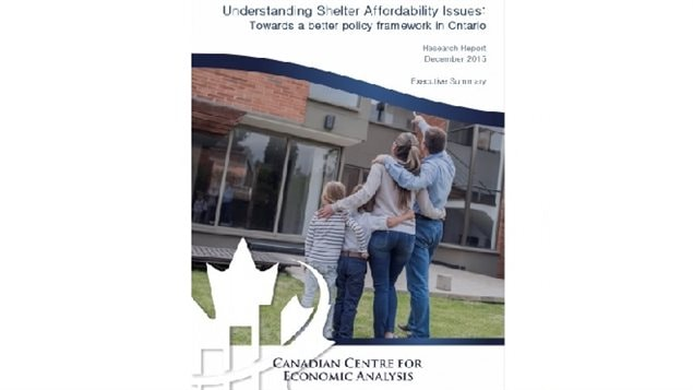 CANCEA was commissioned to study shelter affordability in Ontario, Canada's most populous province. It showed amongst other things that it really is getting harder for people to afford desirable housing, and that many low and middle class families are being *crowded out* of the markets they need.