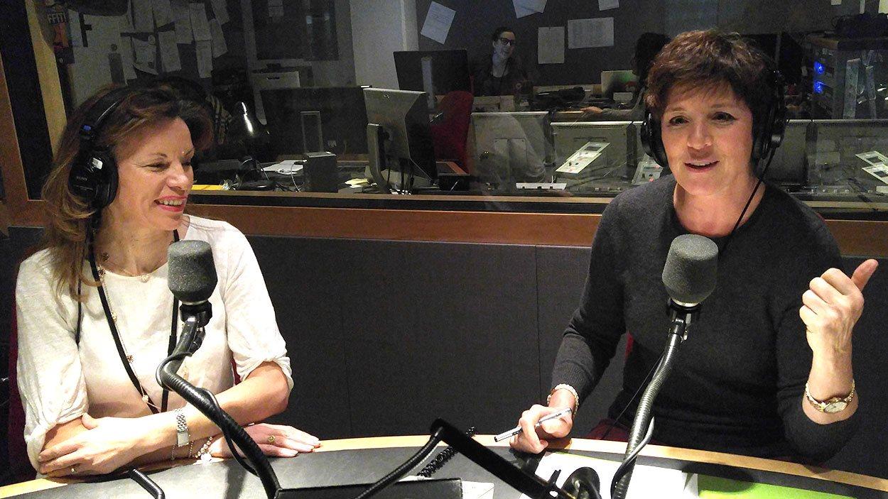La chef Helena Loureiro et la nutritionniste Héléna Laurendeau