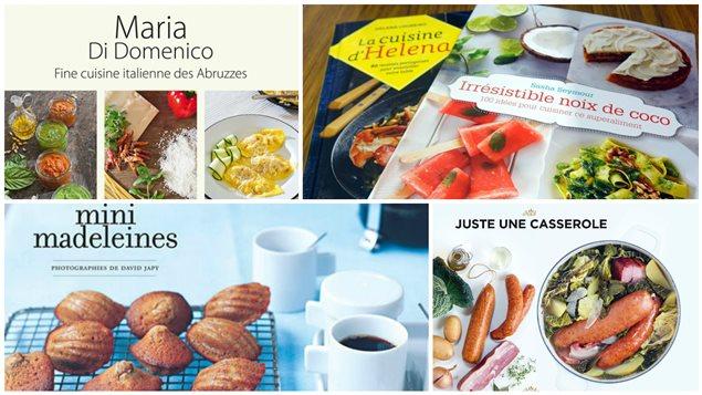 Les choix de lectures gourmandes de Chrystine Brouillet.