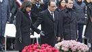 Hommage place de la République aux victimes des attentats de 2015
