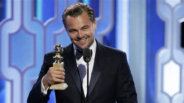 Leonardo Di Caprio (The Revenant) a remporté le Golden Globe du meilleur acteur dans un film dramatique