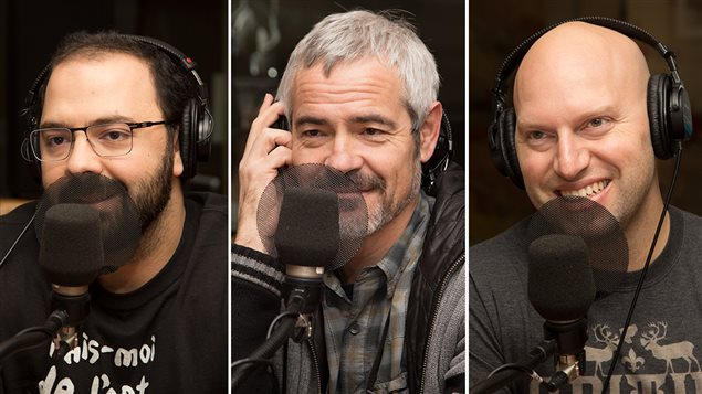 Mani Soleymanlou, Philippe Soldevila et Marco Calliari