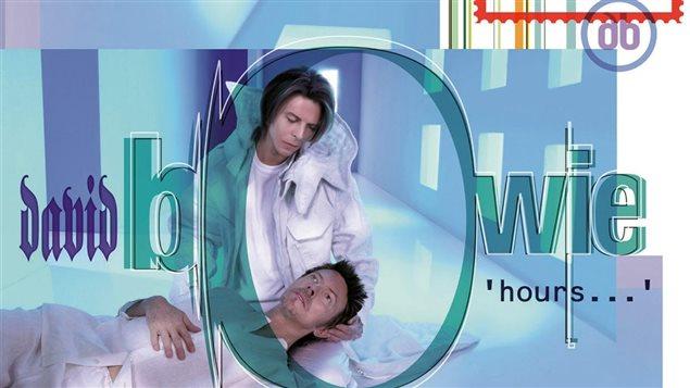 Pochette de l'album <em>Hours</em> (détail) lancé en 1999 par David Bowie
