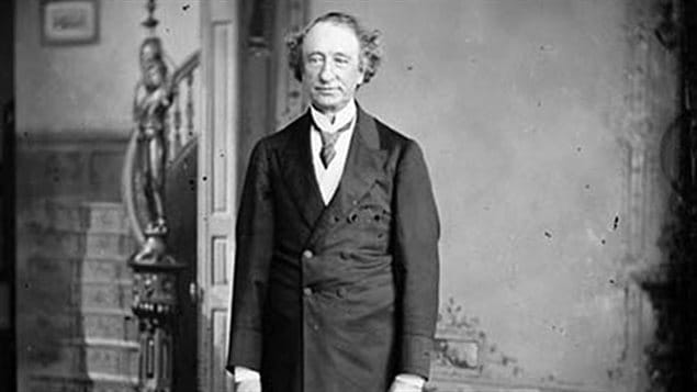 The first Prime Minister of Canada, Sir John A Macdonald, who is considered to be the Father of Confederation