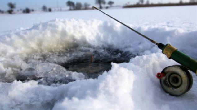Making holes in the ice to save fish could leave anglers and the Alberta Conservation Association liable for criminal charges.