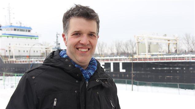 L'historien spécialiste de Sorel-Tracy, Mathieu Pontbriand