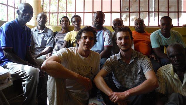 Voyage exploratoire des étudiants de l'Université de Sherbrooke dans la commune de Mombin-Crochu à Haïti
