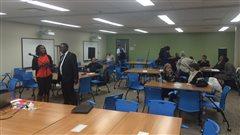 Des participants à la première rencontre de consultation organisée par le CEF