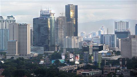 La ville de Jakarta en Indonésie (archives).
