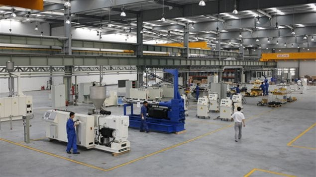 Krauss-Maffei of Germany is a high-tech machinery maker, specializing in plastic and rubber injections and with plants in many countries around the world