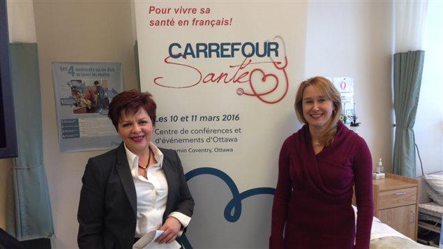 Carrefour santé 2016 : un salon sur le mieux-être et la santé en français en Ontario.