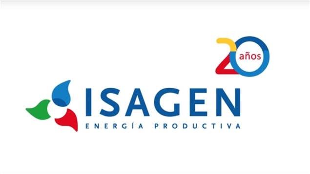 Imagen institucional de Isagén, la generadora de energía colombiana.