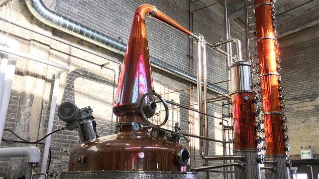 Alambic de la distillerie Circa