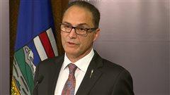 Le ministre des Finances de l'Alberta, Joe Ceci.