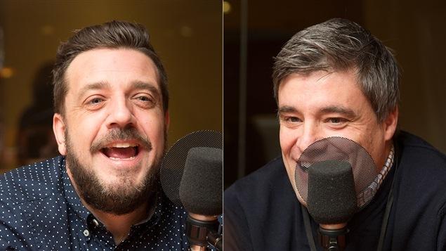 Michel Quintal et Éric Villiard