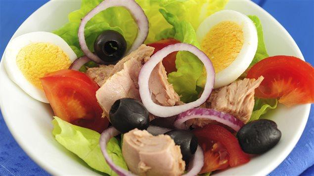 Salade col�r�e