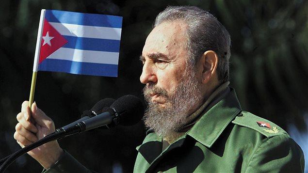 Fidel Castro en 2001