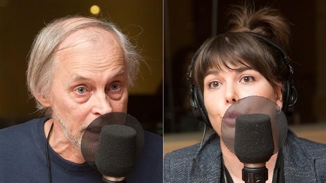 Yves Gingras et Nellie Brière