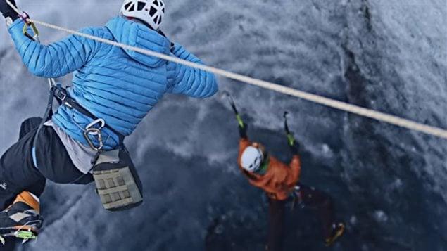 Une image extraite de l'un des films présenté à la Tournée mondiale du Festival du film de montagne de Banff.