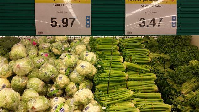 Les prix du chou-fleur et du céleri ont encore augmenté début janvier.