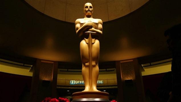 Une statue des Oscars