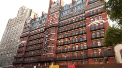 L'hôtel Chelsea à New York.