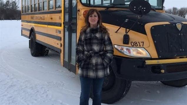 Dusti Hennenfent s'insurge contre l'administration de la prière dans les écoles publiques de la Saskatchewan.