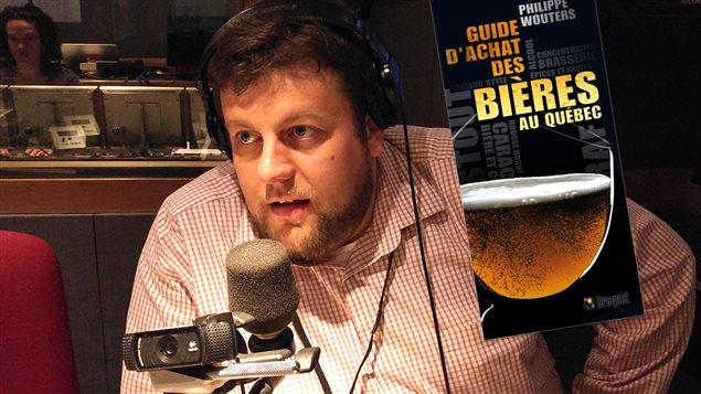 Philippe Wouters, auteur du <em>Guide d'achat des bières au Québec</em>