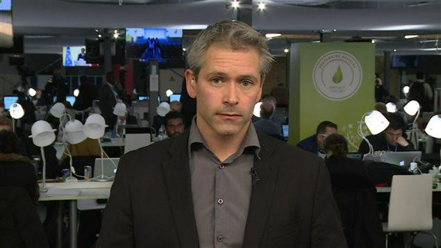 Patrick Bonin, responsable Climat-Énergie pour Greenpeace Canada.