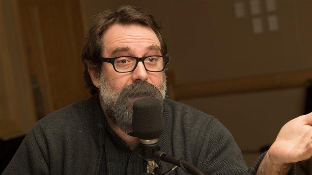 Simon Jodoin, rédacteur en chef du magazine Voir