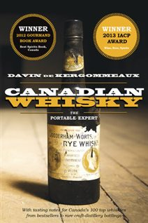 Davin de Kergommeaux's book on Canadian whisky