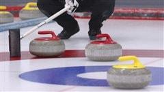 Glace de curling