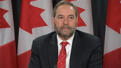 Le chef du NPD, Thomas Mulcair entend être en candidat aux prochaines élections de 2019 dans un système électoral modernisé.