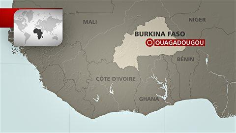 Le Burkina Faso est voisin du Mali qui a dû combattre la montée des djihadistes.