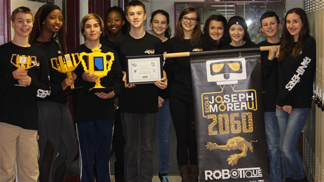 Concours de Robotique remporté par l'École Joseph Moreau d'Edmonton