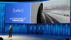 Conduite hivernale de l'automobile autonome