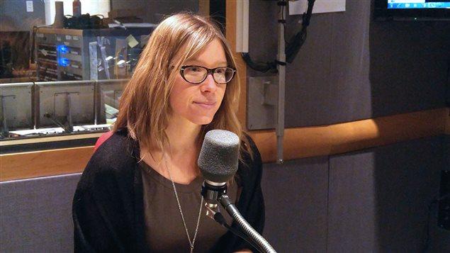 La nutritionniste Andrée-Ann Dufour Bouchard