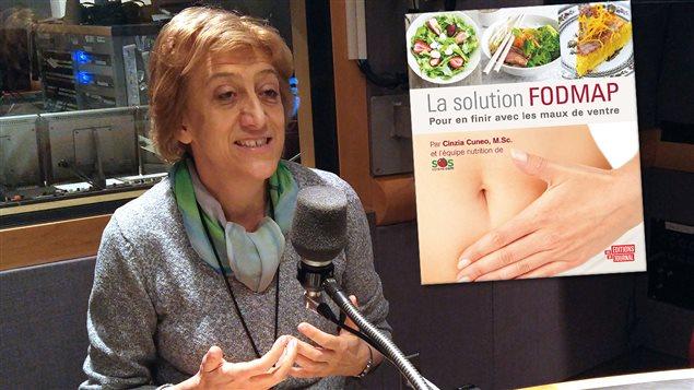 Cinzia Cuneo auteure du livre La solution FODMAP, pour en finir avec les maux de ventre